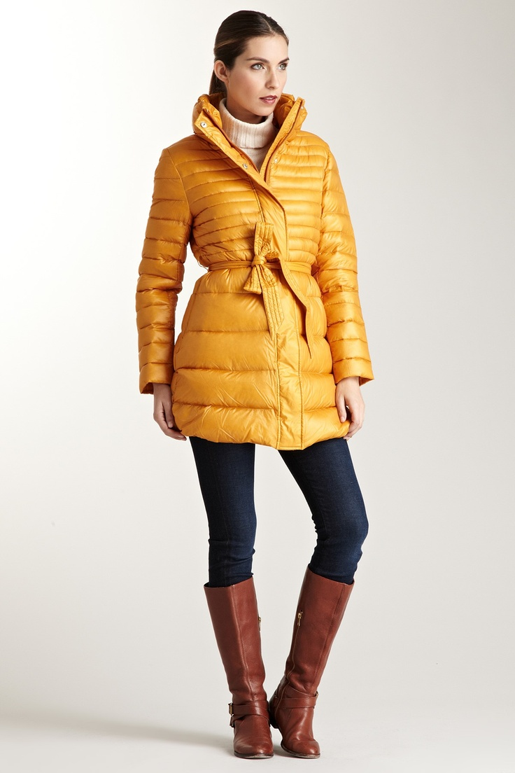 Happy Goat Lucky  Lily Puffer Coat