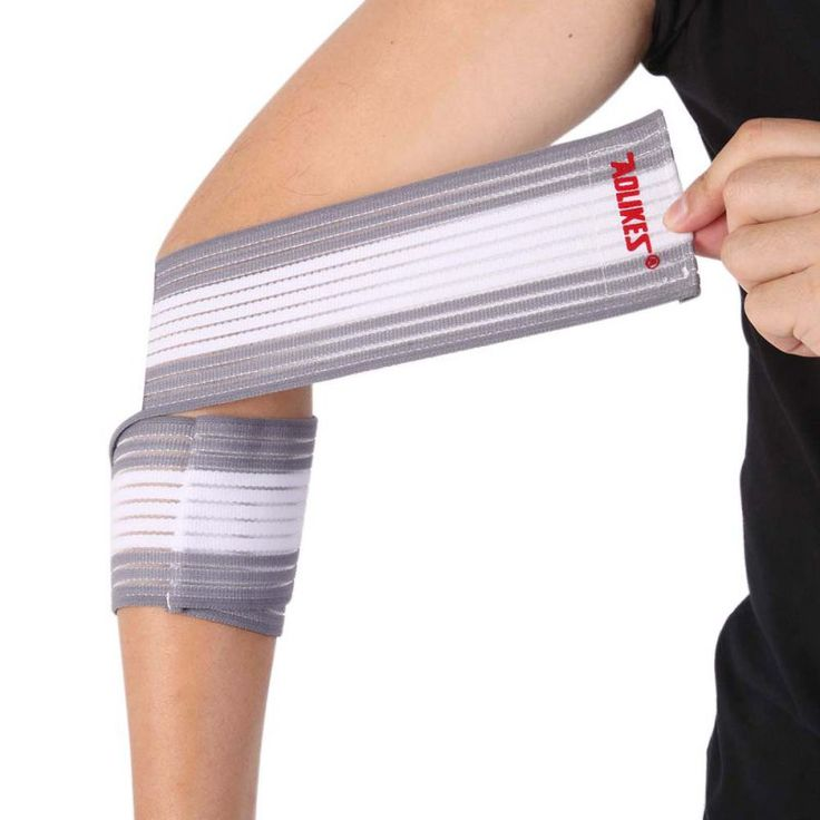 7 colors elastic wrist knee support protection belt sports