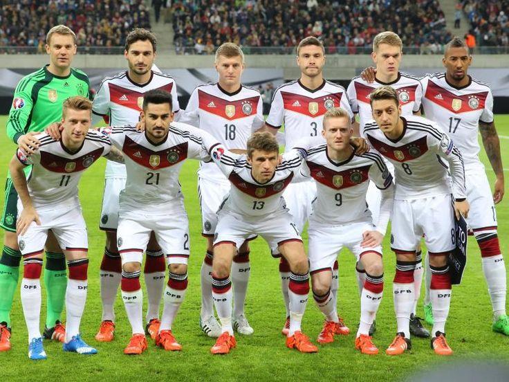Die deutsche Fußball-Nationalmannschaft will auch den EM-Titel gewinnen. Foto: Jan Woitas