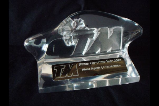 Trophy designed and produced by Pennanen Design.