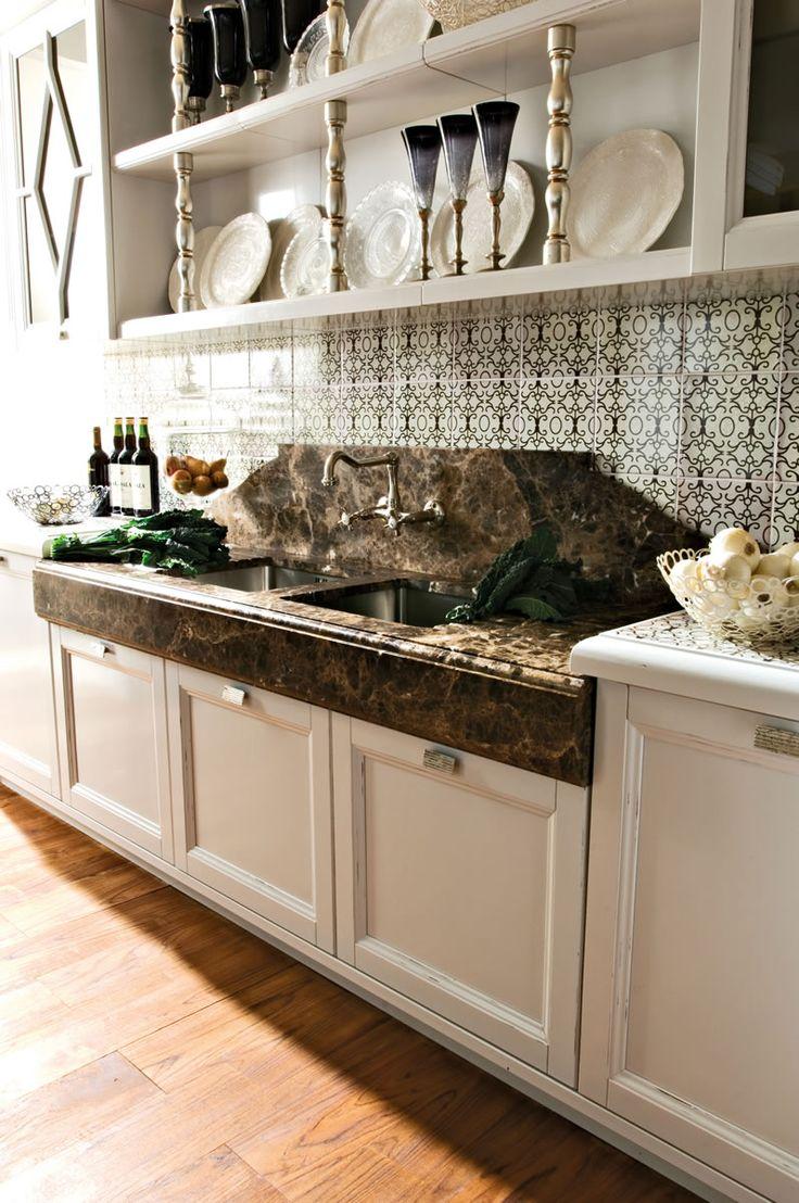Oltre 25 fantastiche idee su cucine country su pinterest - Cucine componibili bianche ...