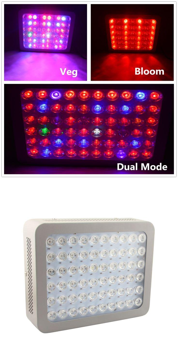 New arrival Nebular 300W LED grow light dual mode veg& bloom full spectrum lens cooling fan design indoor growing greenhouse