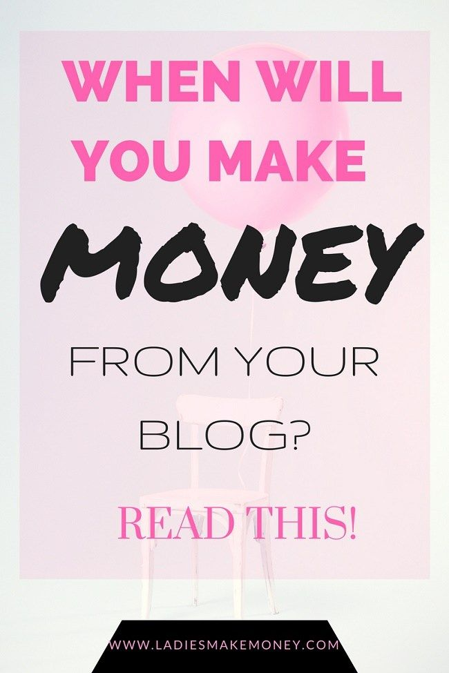 When will you make money from your blog + Proof from bloggers! Not sure if blogging is for you? Find out when you can start making money from your blog. Pin this for later.