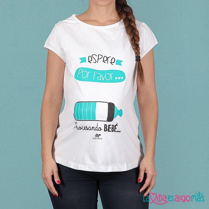 ¡Camisetas de premamá diseñadas con amor para todas las futuras mamás molonas…