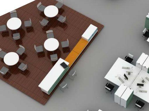 Social meeting spaces