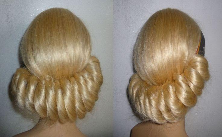 EINFACHE Frisuren mit Haarband.Hochsteckfrisur.Ausgehfrisur.Hairband Hai...