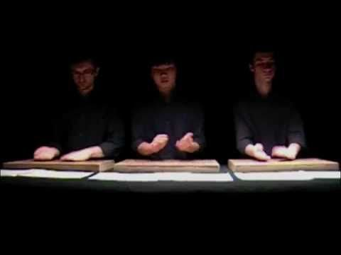 """Thierry De Mey - """"Table Music"""" - YouTube"""