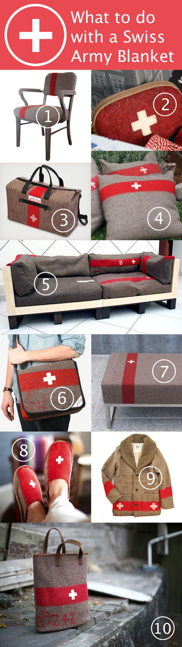 What to do with a Swiss Army blanket | HandsOccupied.com