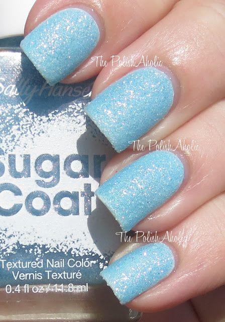 The PolishAholic: Sally Hansen Sugar Coat: Royal Icing