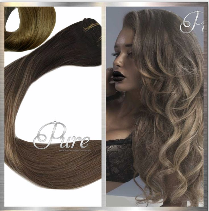 Brown Caramel Ombre