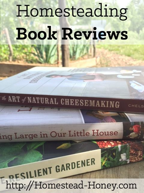 Looking for a few homesteading books and eBooks to enjoy reading this summer? Here are book reviews of a few excellent homesteading and gardening selections.   Homestead Honey