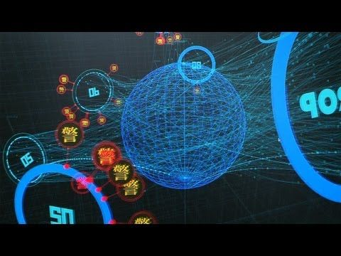 Hypnotic System For Showing Cyber Attacks.