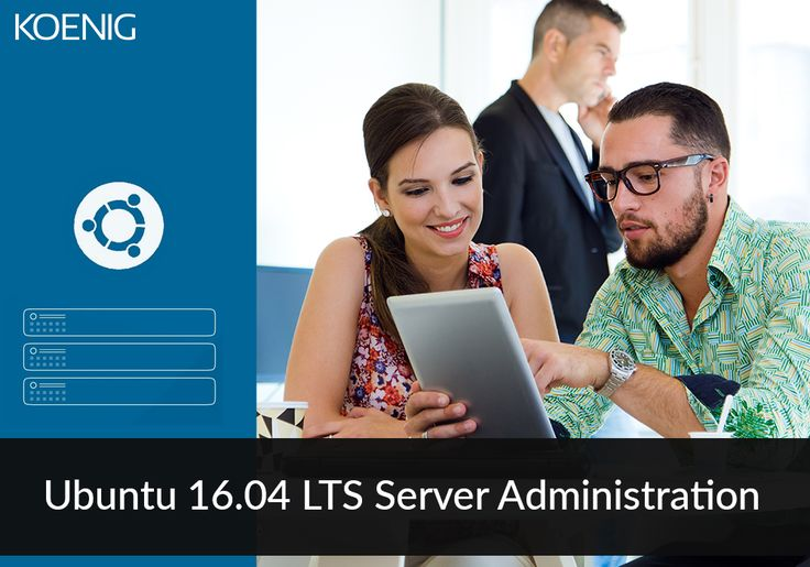 Ubuntu 16.04 Server Administration course from Koenig allows server administrators to manage their data center resources proficiently. Please click here for course details : http://www.koenig-solutions.com/ubuntu-16-04-lts-server-adm… #KoenigSolutions #ICT #Koenighappylearning #trainingcertificationrecognition #ITTraining #Ubuntu