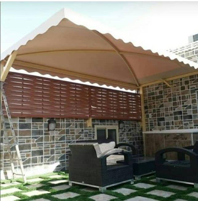 مظلات اسطح المنازل تركيب مظلات لأسطح البيت بالرياض Outdoor Decor Outdoor Structures Home Decor