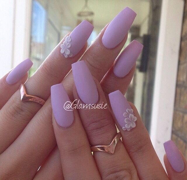 These Lovely simple lavender pink gel nails - 19 Best Nail Art Images On Pinterest Nail Designs, Cook And Creative