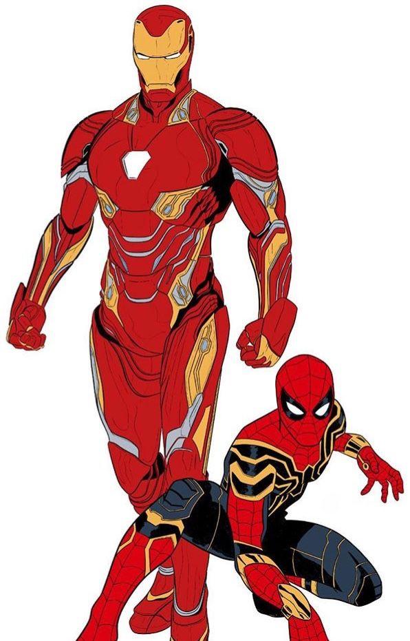 Ironman Y Ironspider Iron Man Comic Marvel Iron Man Iron Man