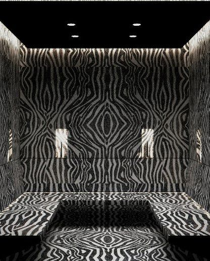 Antolini   Natura Collection-Impala Black Zebra. We have selected many stones from the Natura collection. So exotic!