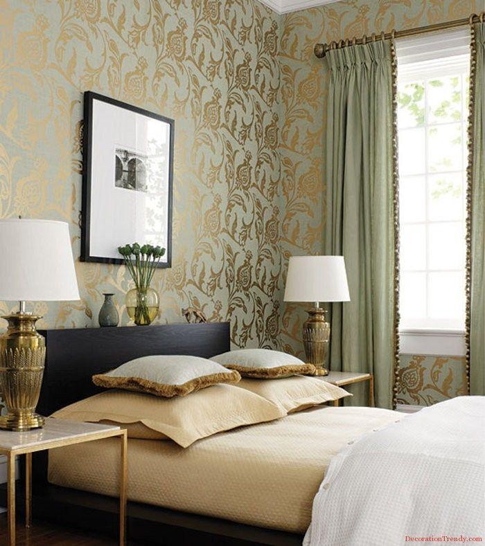 Wallpaper Designs For Living Room   Bedroom Wallpaper Ideas Part 45