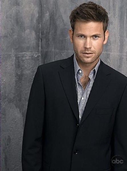Alaric Saltzman, TVD (Matt Davis).  Reminds me so much of a young Indiana...er...Harrison Ford.  <3