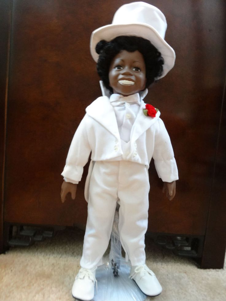 LITTLE RASCALS BUCKWHEAT DOLL - 1997  MINT.- RIGHT OFF THE 1930'S MOVIE SCREEN
