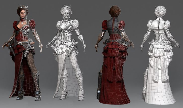 ArtStation - Lady Mechanika, Oleg Aleinikov