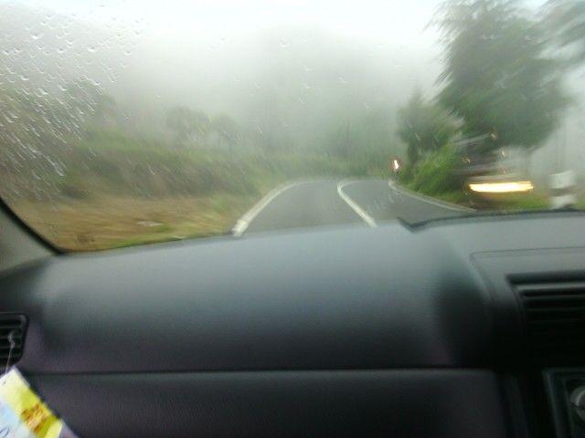 Fog at dieng
