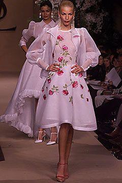 Saint Laurent Spring 2001 Couture Fashion Show - Inga Savits