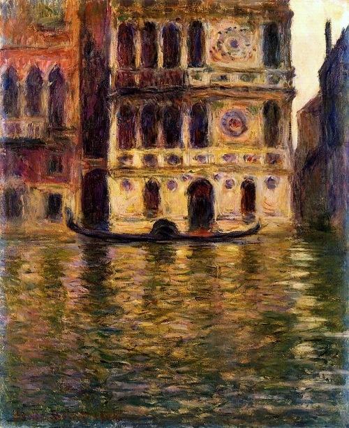 Palazzo Dario Claude Oscar Monet-1908