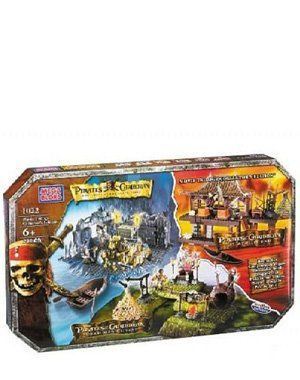 Mega Bloks Pirates of the Carribean Movie Trilogy 1022 @ niftywarehouse.com #NiftyWarehouse #PiratesOfTheCarribbean #Pirates #Movies #Pirate