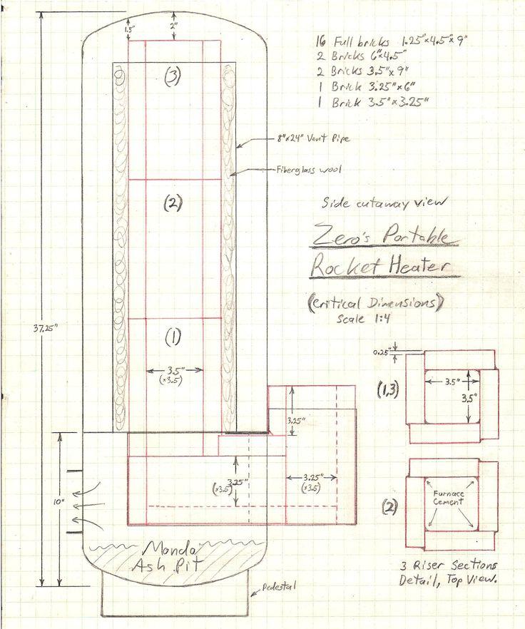 1369 best rocket stoves images on pinterest rocket for Wood stove plans