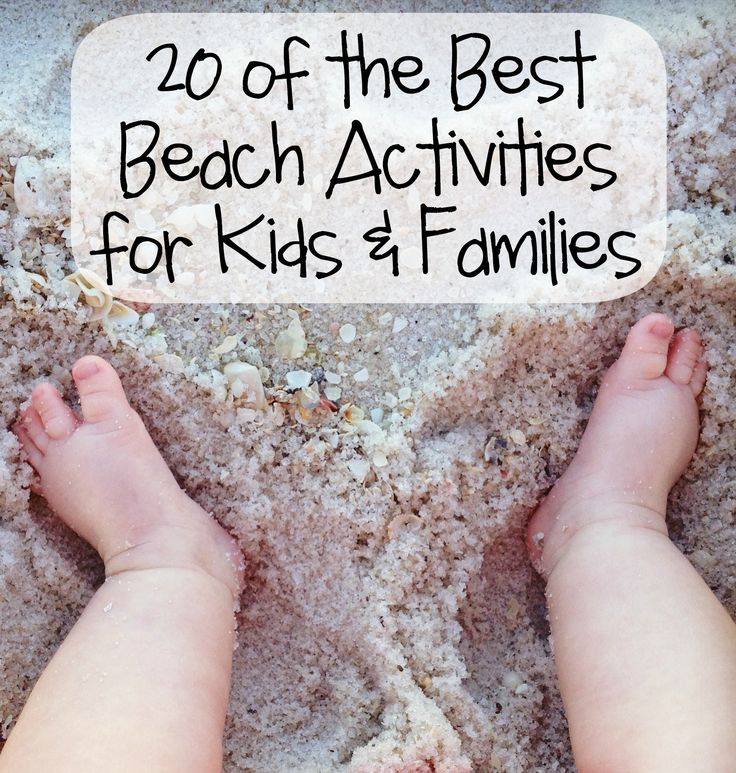 Great ideas for your trip to the beach this spring or summer!