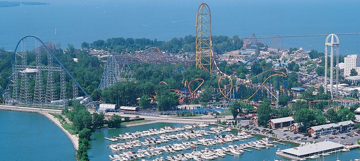 Where can you find the BEST collection of #rollercoasters on the planet, four unique kids' areas, fantastic food options, entertaining live shows, beach-front resorts and MORE? At #Cedar Point of course!