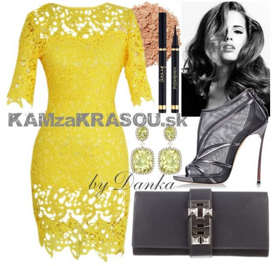 Nádherné žlté šaty - KAMzaKRÁSOU.sk #kamzakrasou #sexi #love #jeans #clothes…