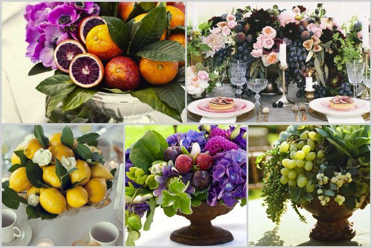 Декоративные вазы для фруктов. Decorative fruit bowl