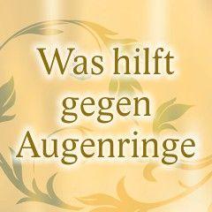 Mittel und Hausmittel gegen Augenringe. www.ihr-wellness-magazin.de