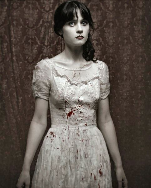 zooey@Stacie Behrman Jameson: Halloween Costume, Inspiration, Style, Costume Ideas, Zombie, Zooey Deschanel, Favorite, People, Photo