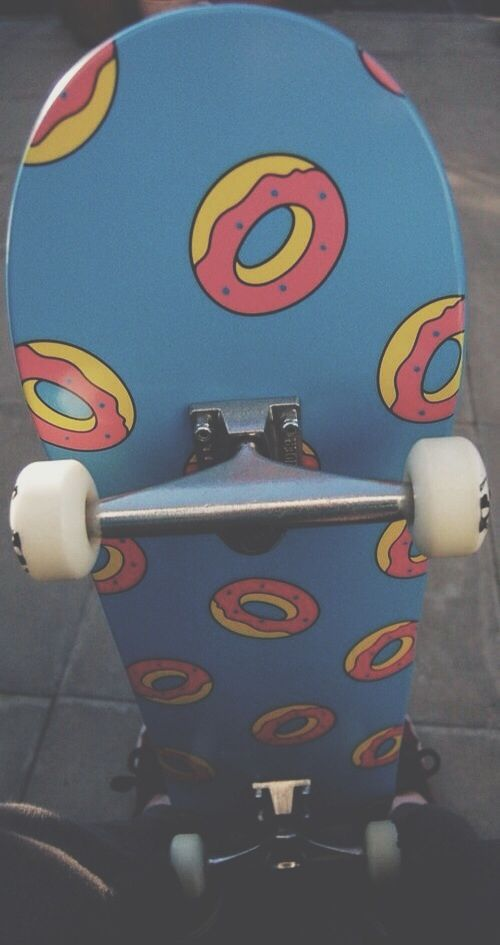 This is one of my dream skateboards with grizzly grip tape