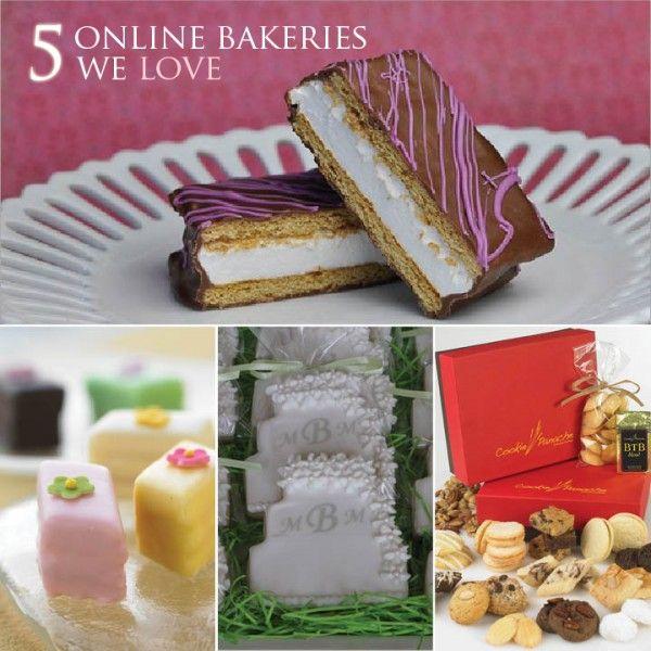 5 Online Bakeries We Love! on http://thebakeryspot.com