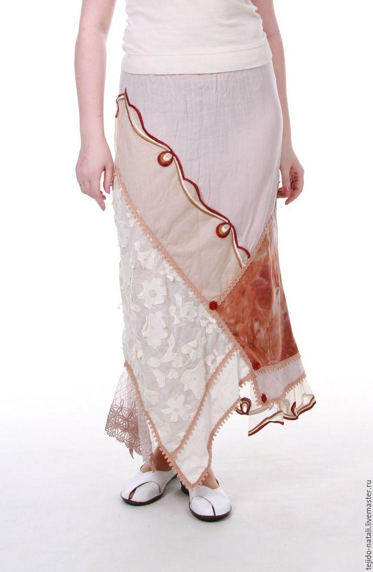 схема вязания плиссированной юбки