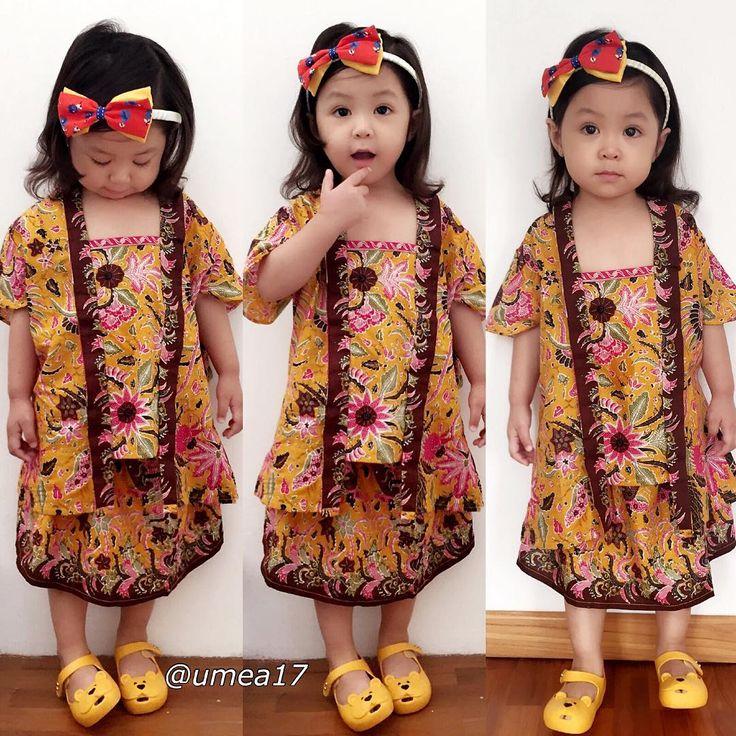 Desain Baju Batik Anak Modern   Anak