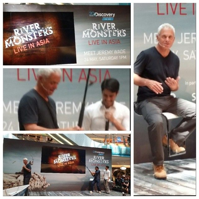 Meet & Greet Session With One Of My Idols... Jeremy Wade from River Monsters... But Soo Sa | OnInStagram