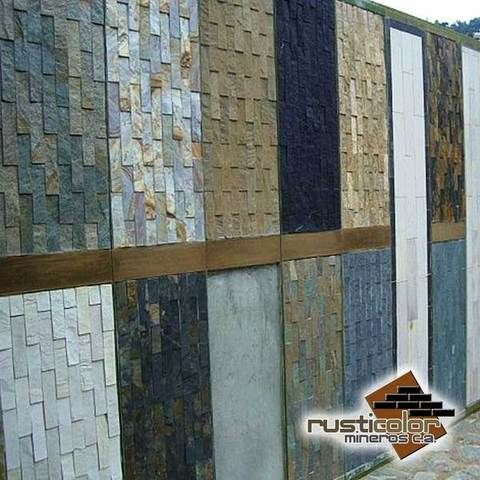Fachada de piedra laja buscar con google varios for Precios de piedra decorativa para interiores