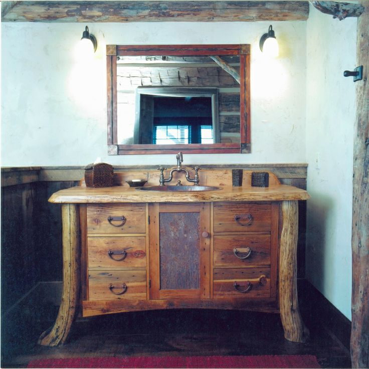 Incredible Vintage Country Bathroom Vanities With Single