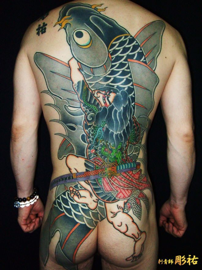 【japanese tattoo】photo、作品紹介 dragon,samurai