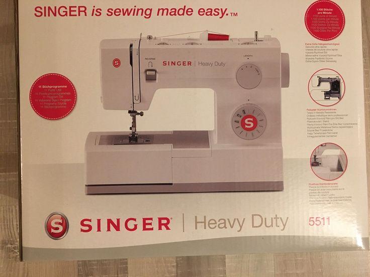 Details Zu Singer N Hmaschine Heavy Duty Singersebay