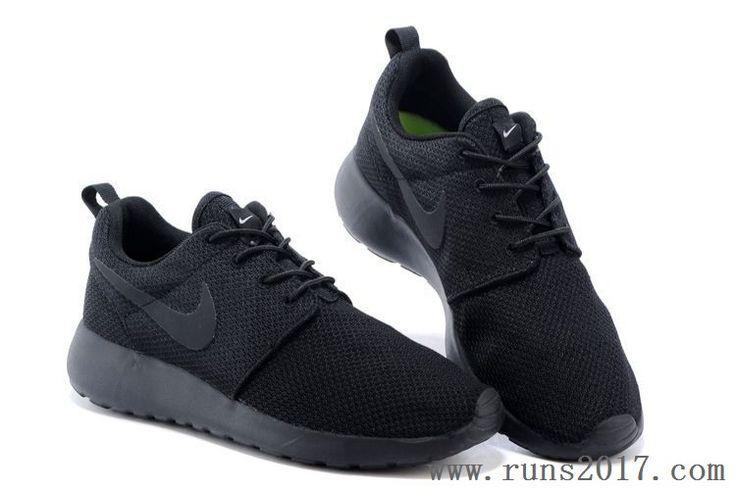 Nike Roshe Run One Mesh Black