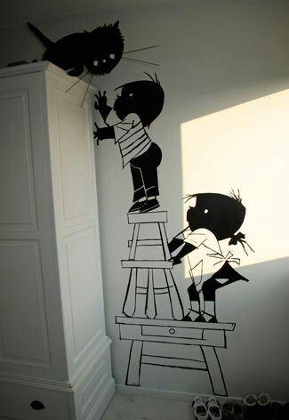 Super leuke muurdecoratie!!!