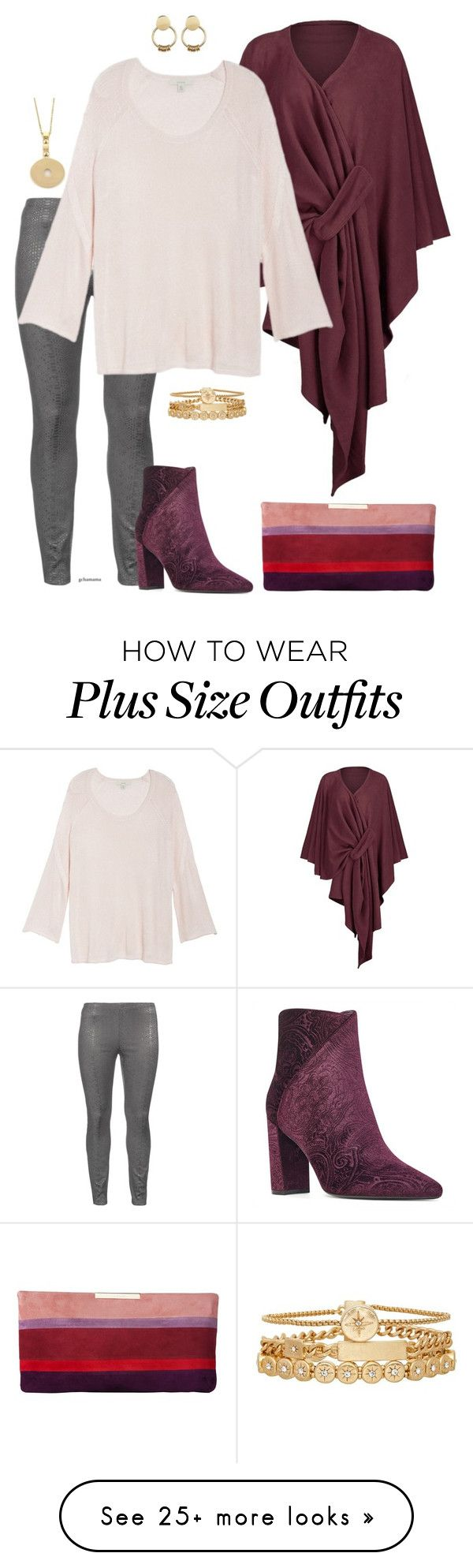 """""""I need some time- plus size"""" by gchamama on Polyvore featuring Zizzi, Sejour, Nine West, L.K.Bennett, Treasure & Bond, SOKO and Bulgari"""