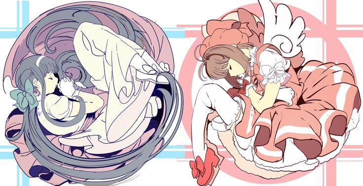 Tomoyo et Sakura