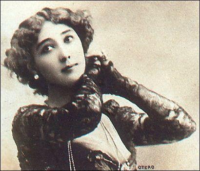 "Caroline ""La Belle"" Otero by rosewithoutathorn84, via Flickr"